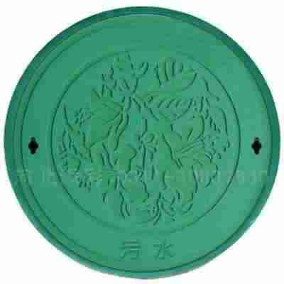 绿色树脂井盖